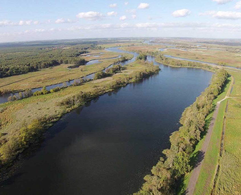 Blick auf den Welsensee und den Nationalpark